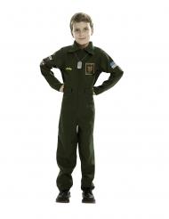 Sotilaslentäjän naamiaisasu lapselle