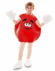 Punainen karkki-puku lapselle