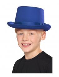 Sininen silinterihattu lapselle