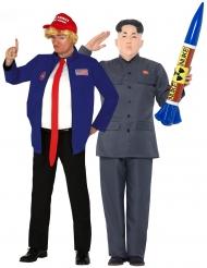 Amerikkalainen ja korealainen poliitikko- pariasu aikuisille
