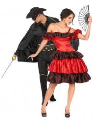 Naamiosankari ja flamencotanssija- pariasu naiselle