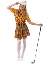 Oranssi golfasu naiselle