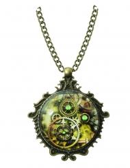 Steampunk- medaljonki aikuiselle
