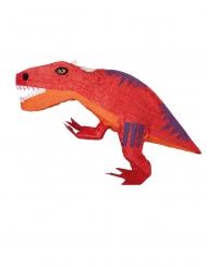 Oranssi dinosauruspiñata 53x30x12 cm