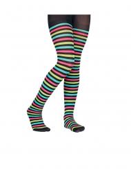Moniväriset sukkahousut lapselle