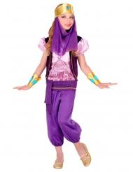 Violetti prinsessa-asu tytölle