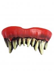 Klovnin kammottavat hampaat aikuiselle