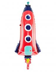 Alumiininen avaruusraketti- ilmapallo 44 x 115 cm