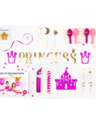 Prinsessasynttäreiden koristesetti 31 osaa