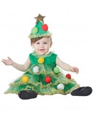 Joulukuusi-naamiaisasu vauvalle
