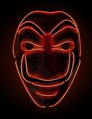 Punaisen varkaan LED-naamari aikuiselle