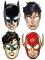 Justice League™ -pahvinaamiot 8 kpl