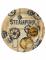 Steampunk- pahvilautaset 23 cm 6 kpl