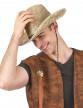 Chapeau paille Dallas Bull adulte-1