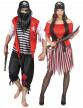 Déguisement de couple de pirate