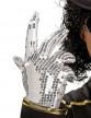 Gant sequin argent Michaël Jackson™ enfant