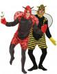 Déguisements de couple abeille et coccinelle hommes