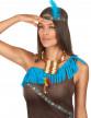 Collier indien avec plumettes-1