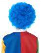 Perruque clown enfant bleue-1