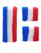 Bandeau et manchettes supporter France adulte