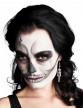 Boucles d'oreilles métal squelette femme Halloween
