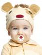 Déguisement petit ourson avec sucette luxe bébé-1