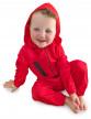 Déguisement voleur rouge bébé