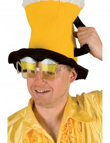 Oluttuopin muotoiset silmälasit aikuiselle