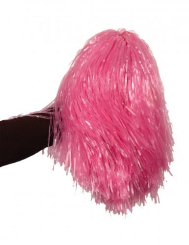 Metallisen vaaleanpunainen kannustushuisku - 1 kpl