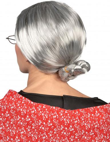 Naisten peruukki Isoäiti-1