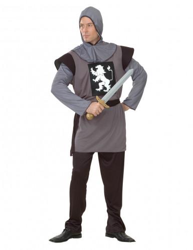 Keskiaikainen ratsumiesasu miehille