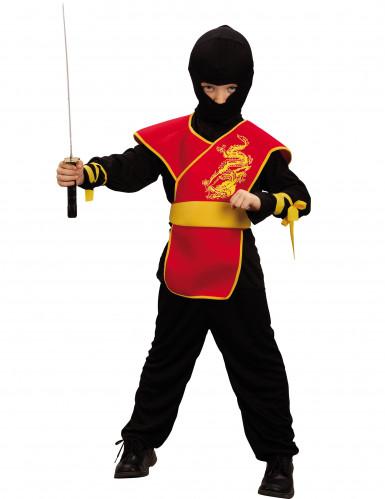 Ninjan tunika-asu lapselle