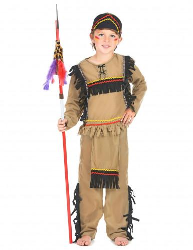 Intiaani essulla - Naamiaisasu lapsille