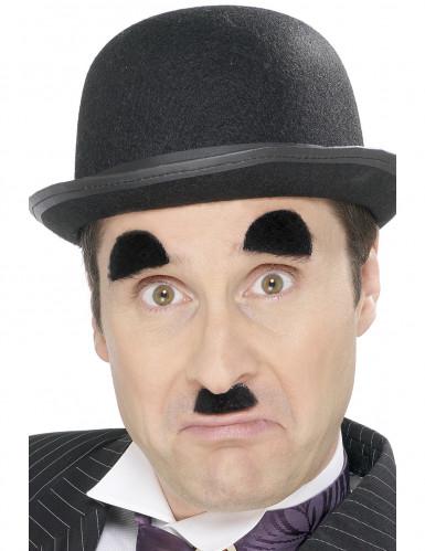 Charlie Chaplin tekoviikset ja -kulmakarvat aikuselle