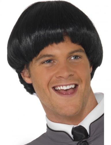 Musta peruukki miehille