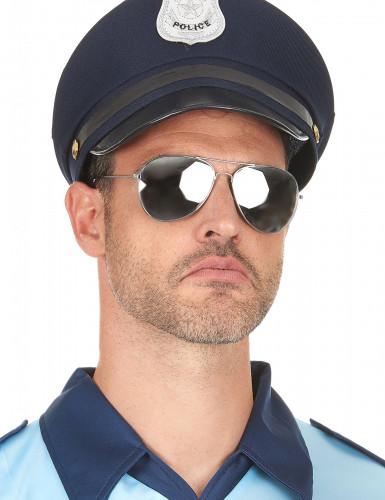Aikuisten mustat Aviator-aurinkolasit-2