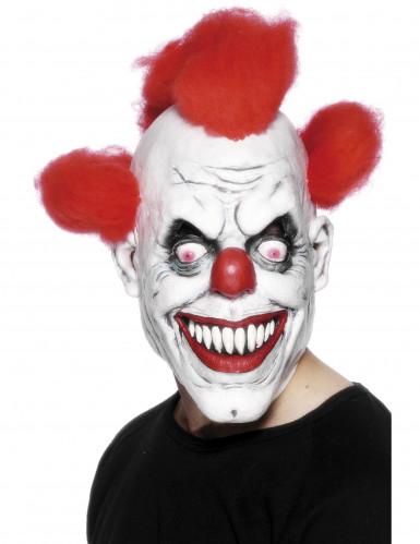 Kammottavan klovnin naamari aikuisille - Halloween