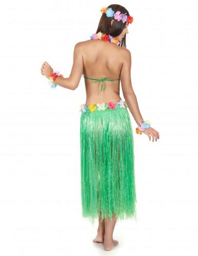 Aikuisten vihreä havaijilaissetti-2
