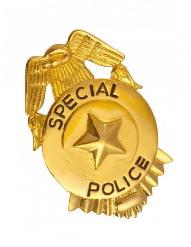 Kultainen poliisin virkamerkki