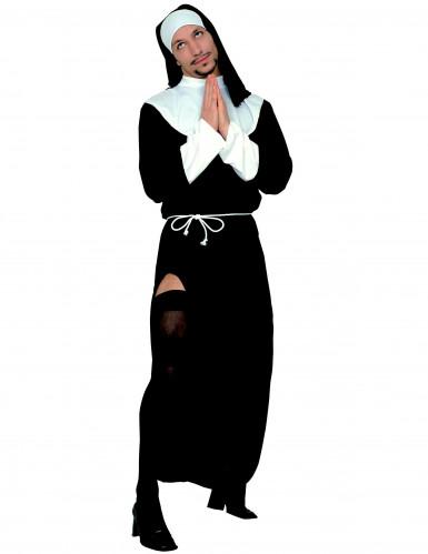 Humoristinen nunnan mekko miehille