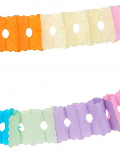 Värikäs silkkipaperinauha 6 m-1