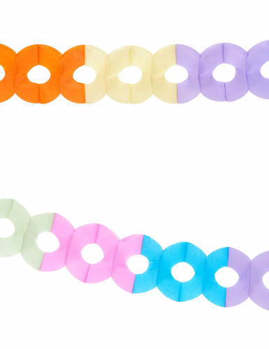 2 värikästä paperinauhaa 2,5 m-1
