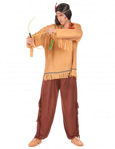 Miehekäs intiaaniasu-1
