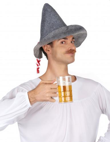 Aikuisten baijerilaisen hattu-1