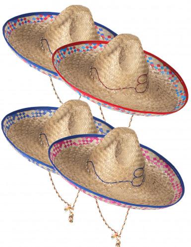 Paljettinen sombrero