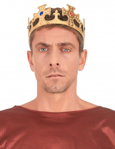 Kullanvärinen kruunu miehille-2