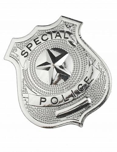 Metallinen poliisimerkki aikuisille