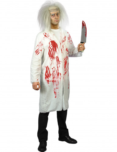 Verisen lääkärin naamiaisasu miehelle halloween