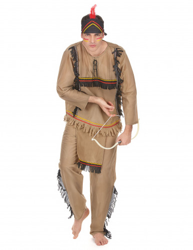 Miesten intiaanipuku