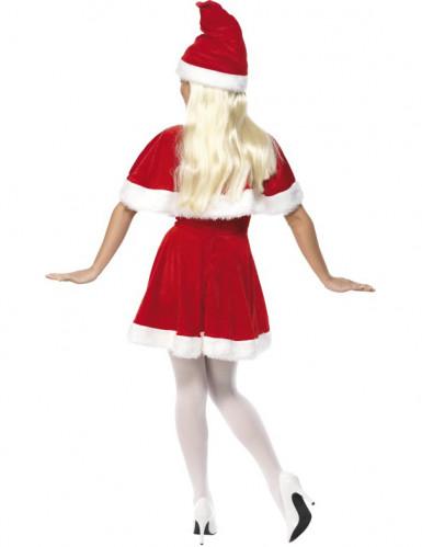 Naisten naamiaisasu joulumuori-1